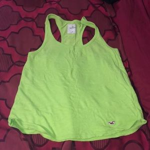 Lime Green Muscle Shirt
